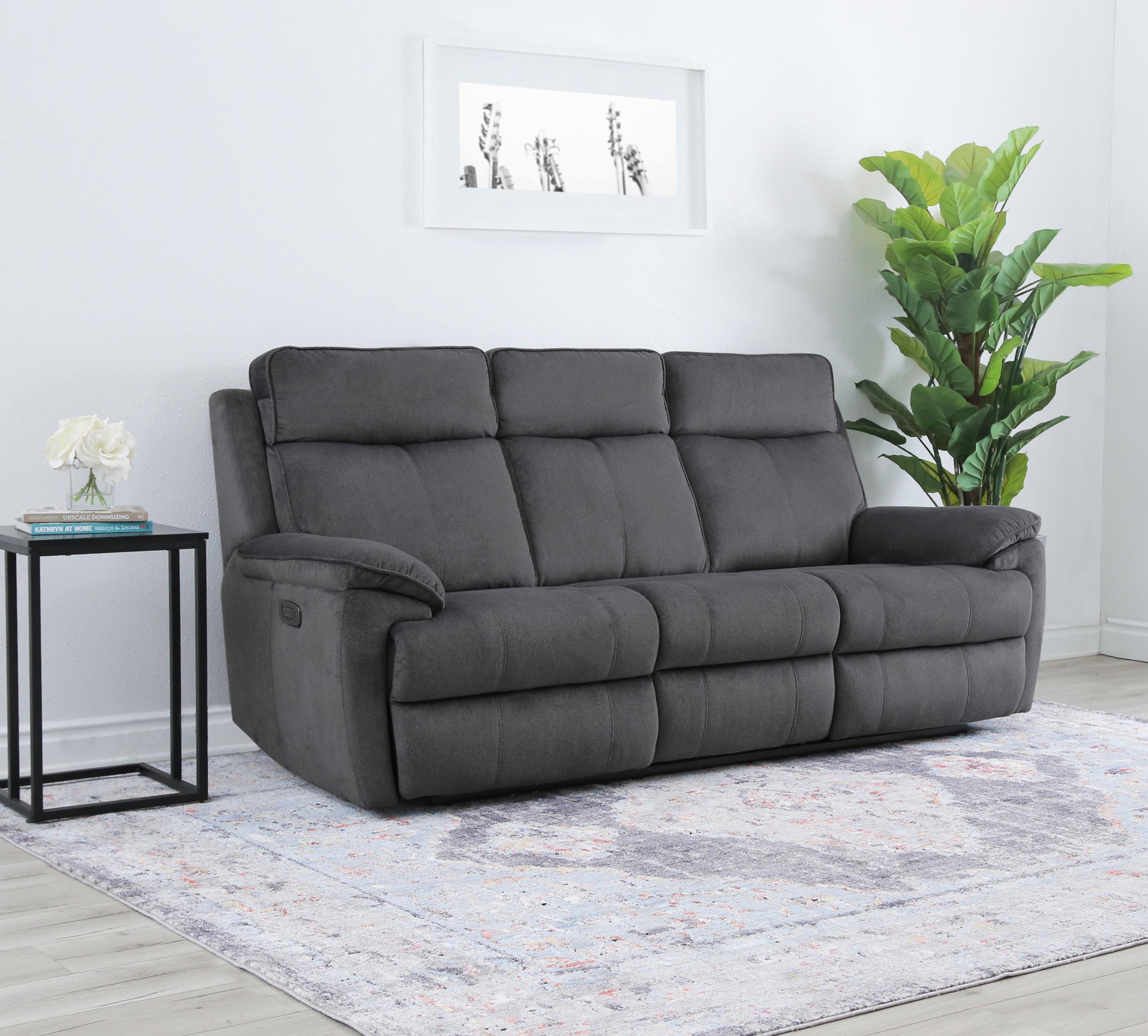 Brett Dual Power Reclining Sofa