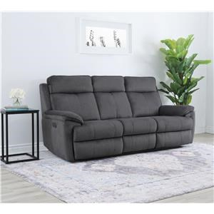 Brett Dual Power Reclining Sofa