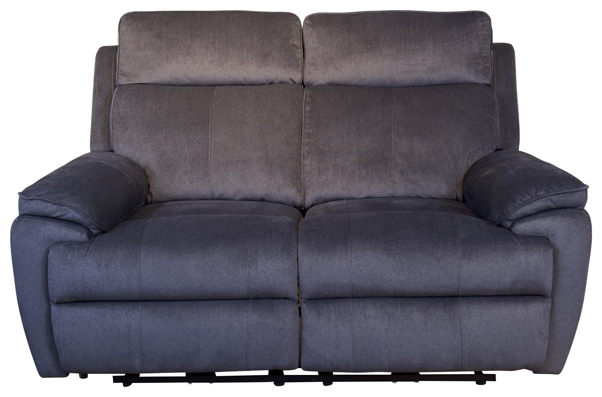 Brett Brett Dual Power Reclining Loveseat by Abbyson at Morris Home