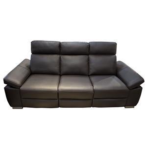 Jove Power Leather Sofa
