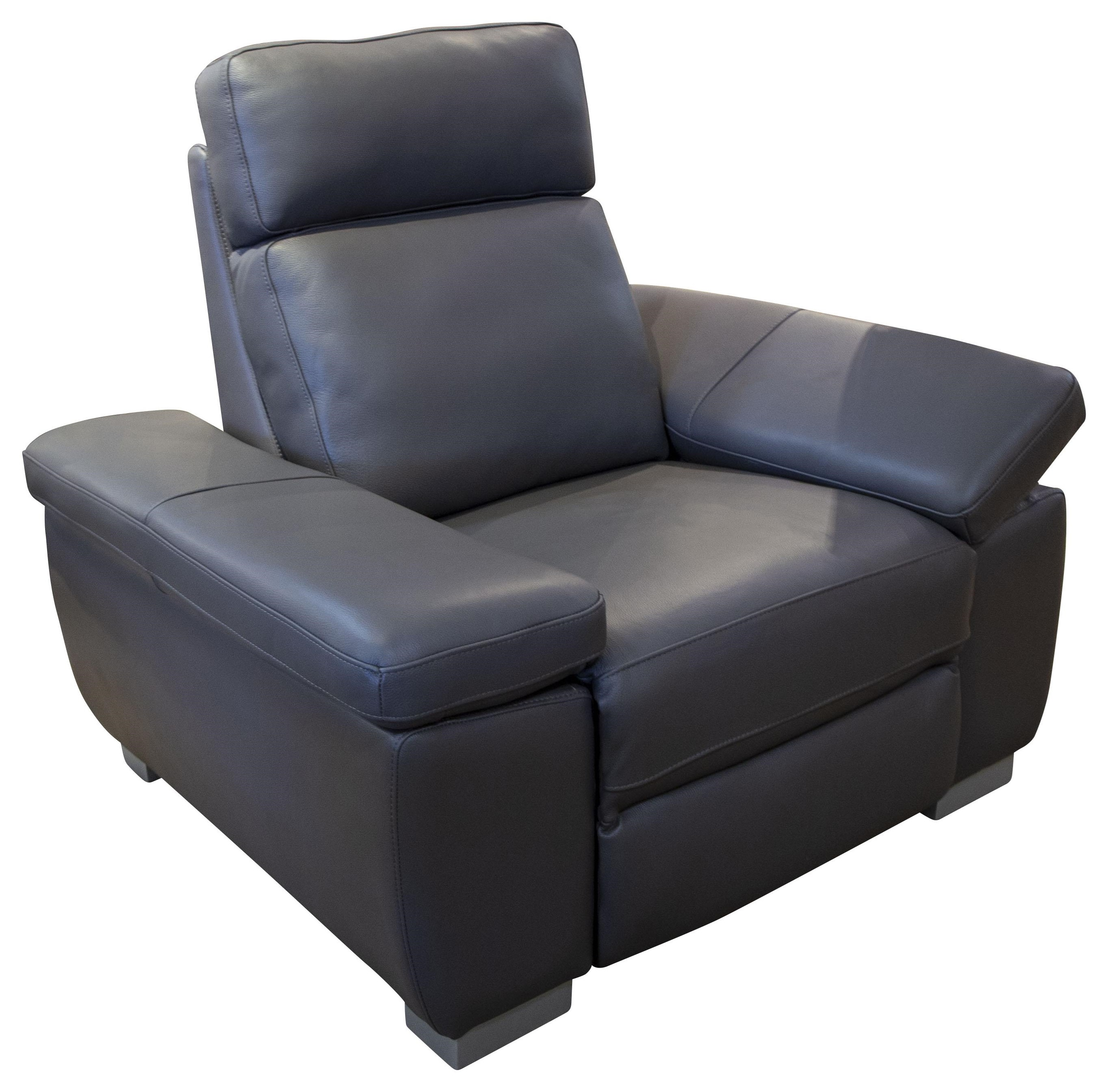 Jove Jove Power Leather Recliner by Abbyson at Morris Home
