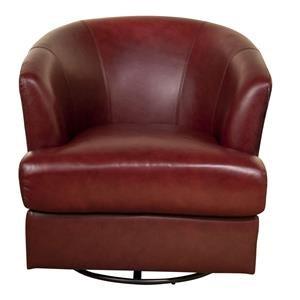 Lianna Leather Swivel Chair