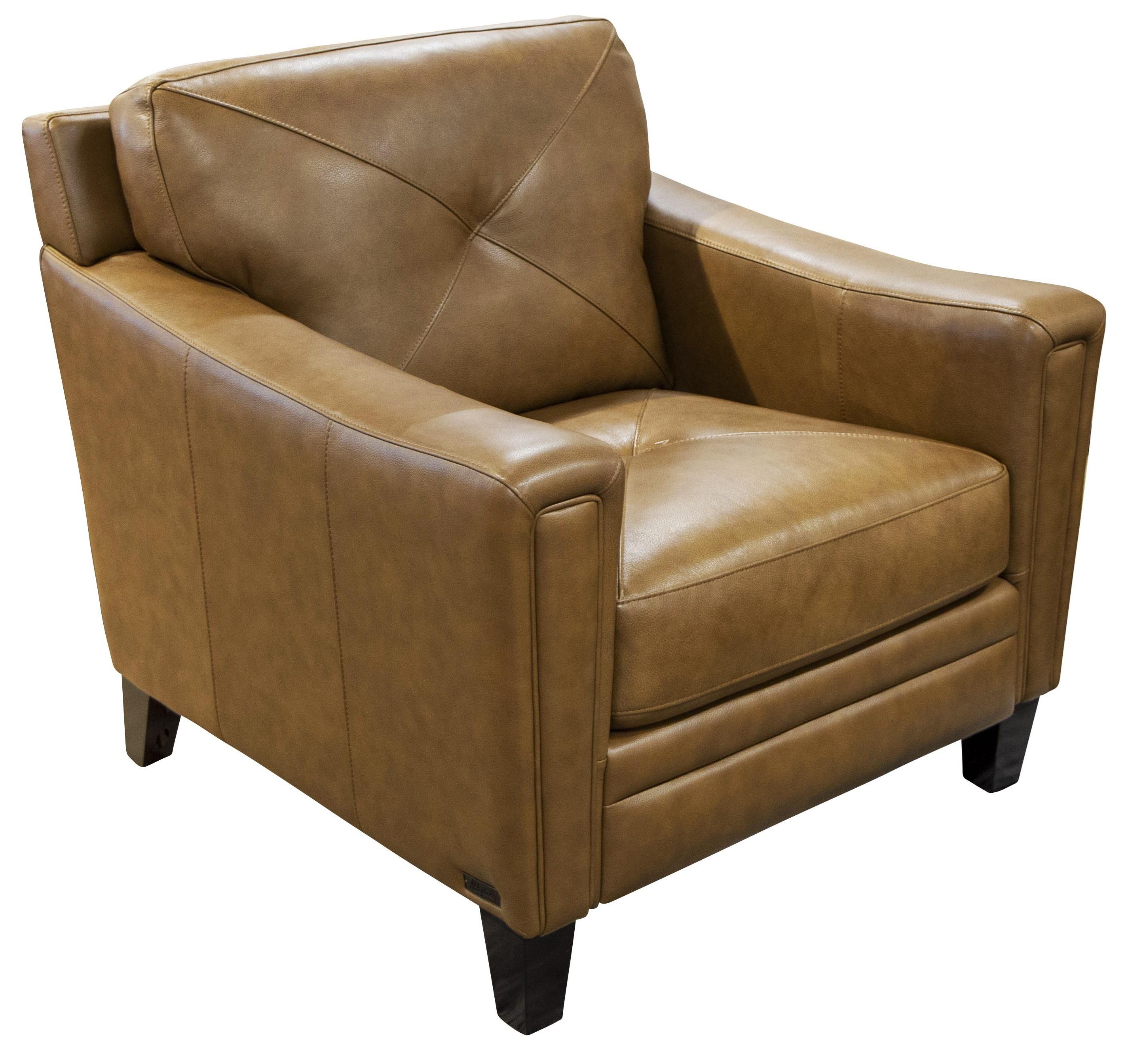 Wren Wren Leather Match Chair by Abbyson at Morris Home