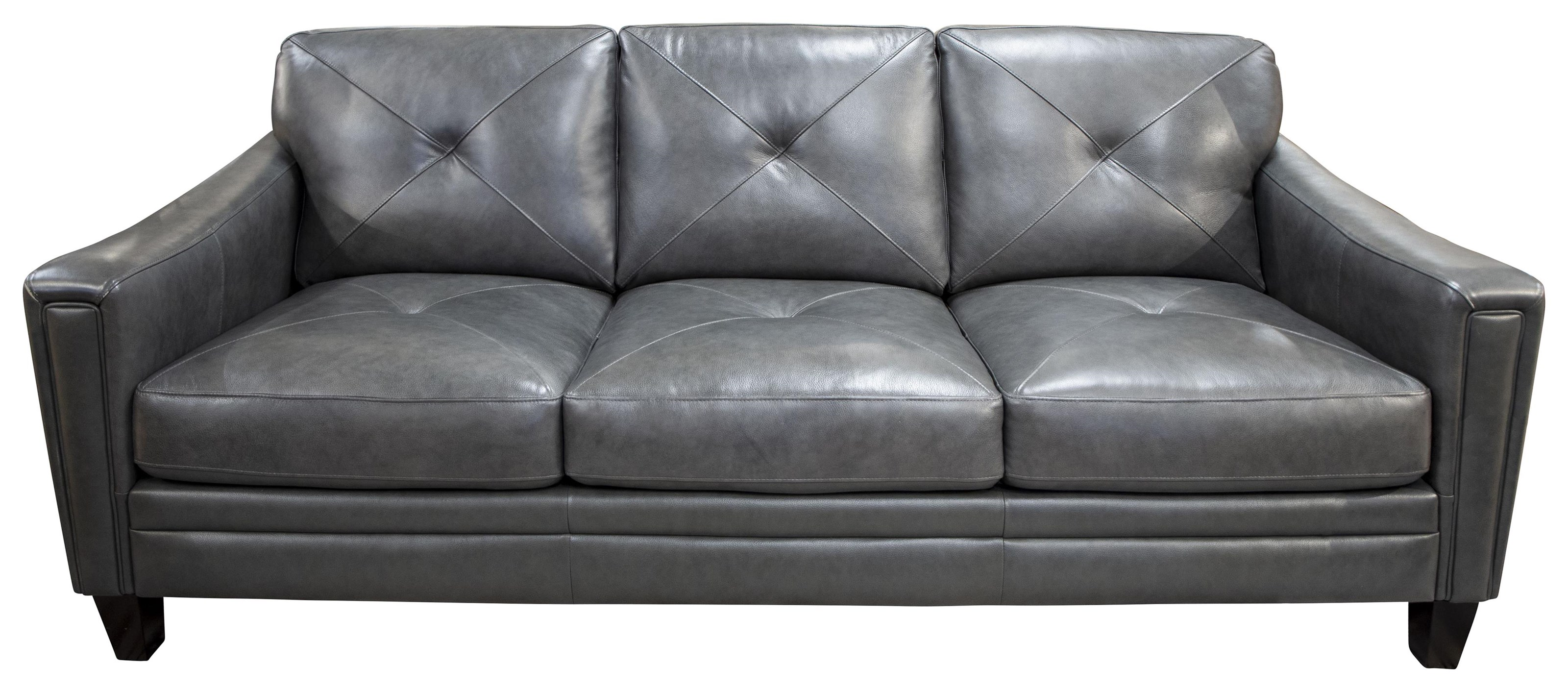 Wren Wren Leather Match Sofa by Abbyson at Morris Home
