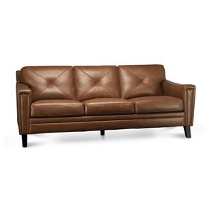 Wren Leather Match Sofa