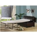 AC Pacific 903 Ottoman Sleeper - Charcoal - Item Number: 980143