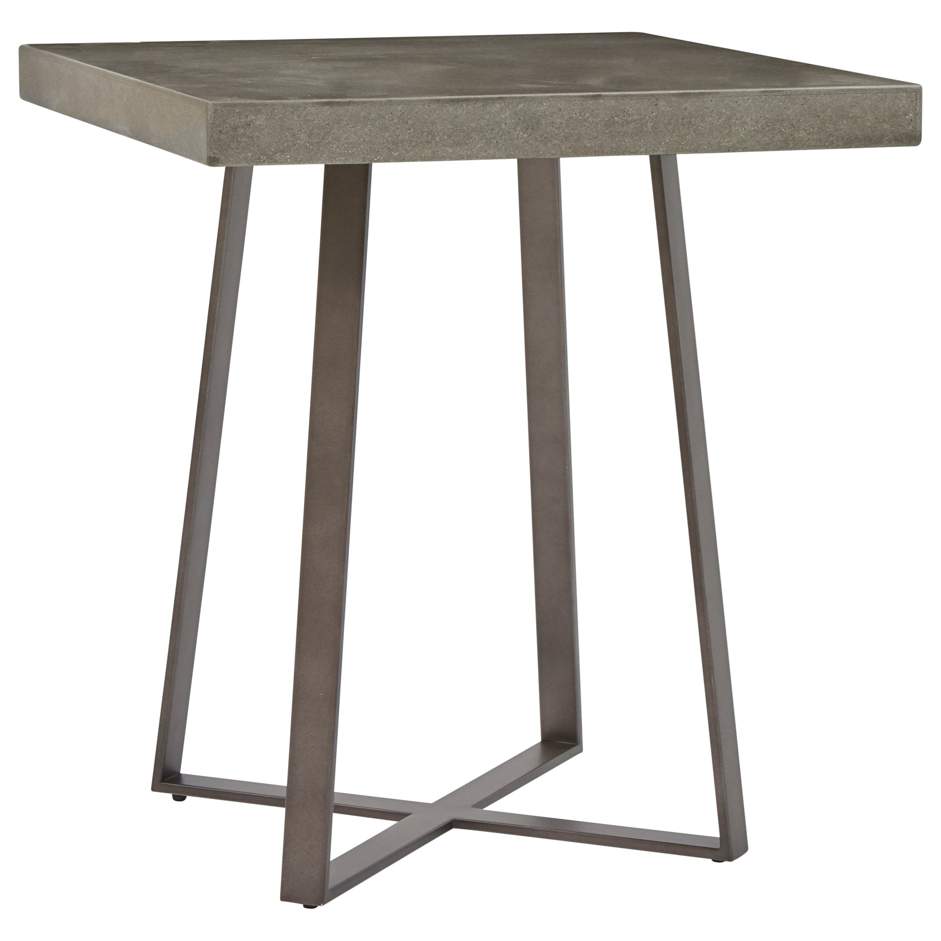 Grey Wash End Table