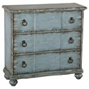 Pulaski Accentrics Home Small Space Distressed Blue Farmhouse Chest - Item Number: DS-D229-061