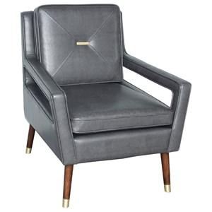 Modern Bar Pull Arm Chair