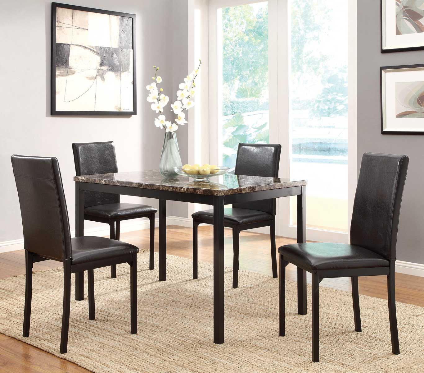 Home elegance 5 piece dining set
