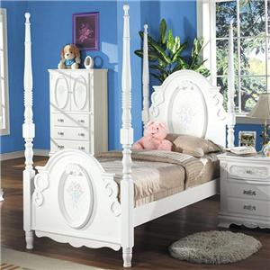 Acme Furniture 01660 Twin Poster Bed
