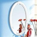 Acme Furniture Flora Mirror (Oval) - Item Number: 01684