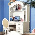 Acme Furniture 01660 Child's Desk Chair - Shown with Desk and Hutch
