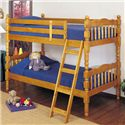 Acme Furniture 02301 Youth Bunk Bed - Item Number: 02301 SET