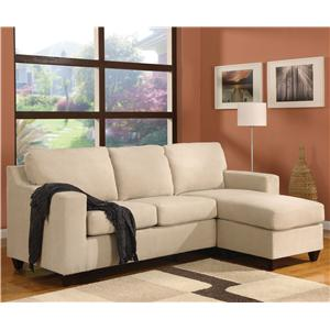 Acme Furniture 5913 Vogue Reversible Chaise Sectional