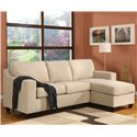 Acme Furniture 5913 Vogue Reversible Chaise Sectional - Item Number: 05913SET