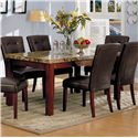 Acme Furniture 7045 Rectangular Dining Table - Item Number: 7045