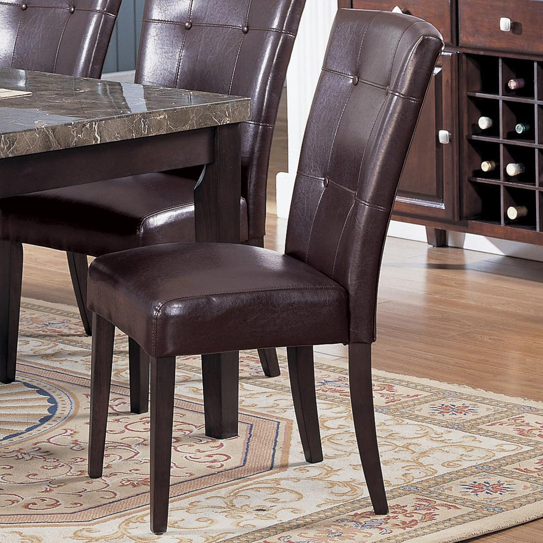 Acme Furniture 7058 Bycast Side Chair - Item Number: 7054