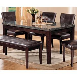 Acme Furniture Canville Dining Leg Table