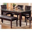 Acme Furniture Canville Dining Leg Table - Item Number: 07058