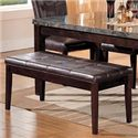 Acme Furniture Canville Bicast Upholstered Bench - Item Number: 07069