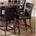 Acme Furniture 7380 Bologna 9 Piece Counter Height w/ Marble Top Table Set - Counter Height Chair