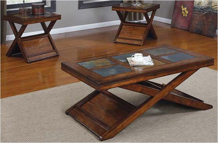 Acme Furniture Benicia 3 Piece Table Set - Item Number: 80166 SET