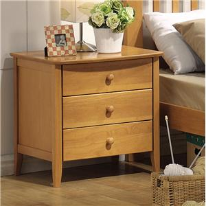 Acme Furniture San Marino 3 Drawer Nightstand