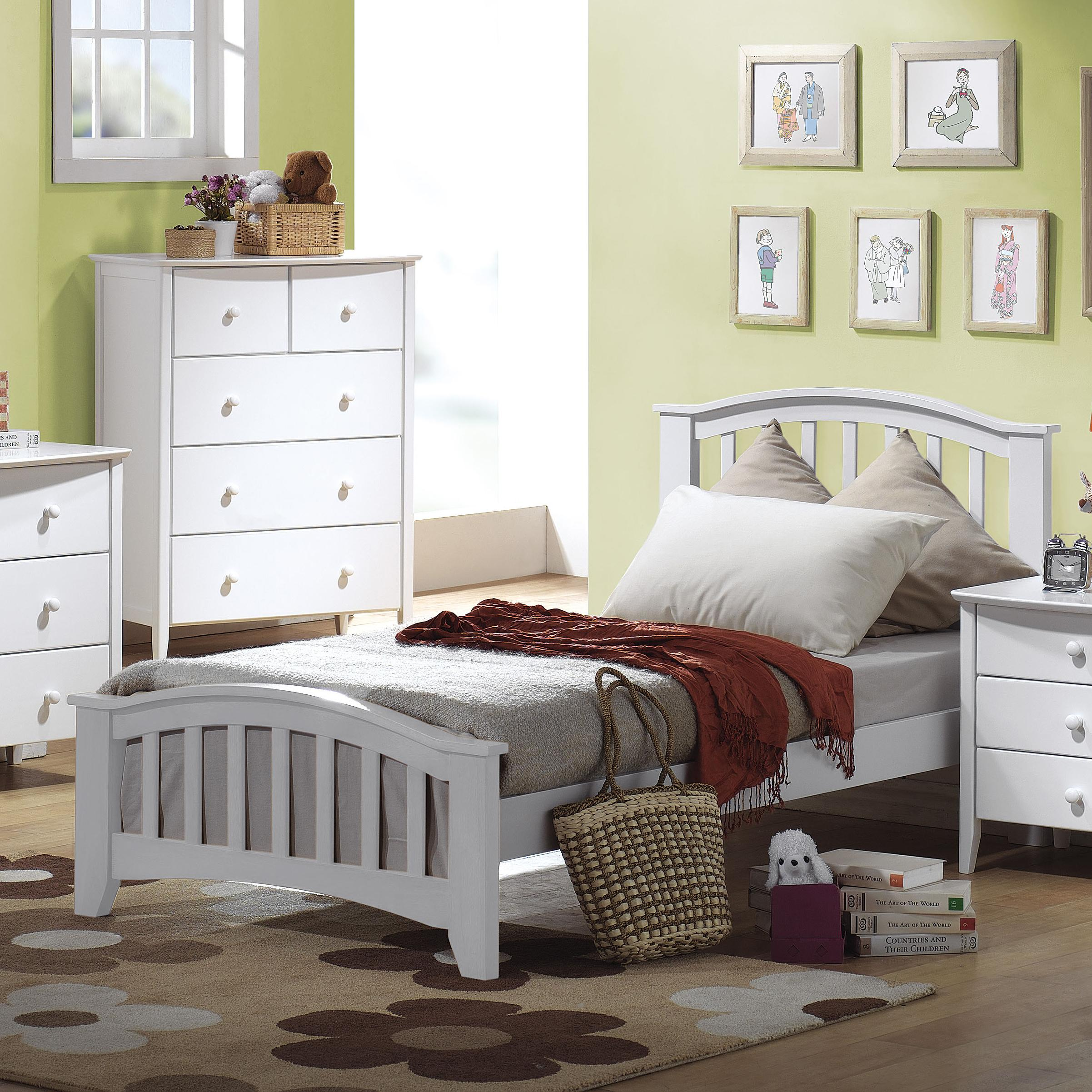 Acme Furniture San Marino Twin Slat Bed - Item Number: 9150T