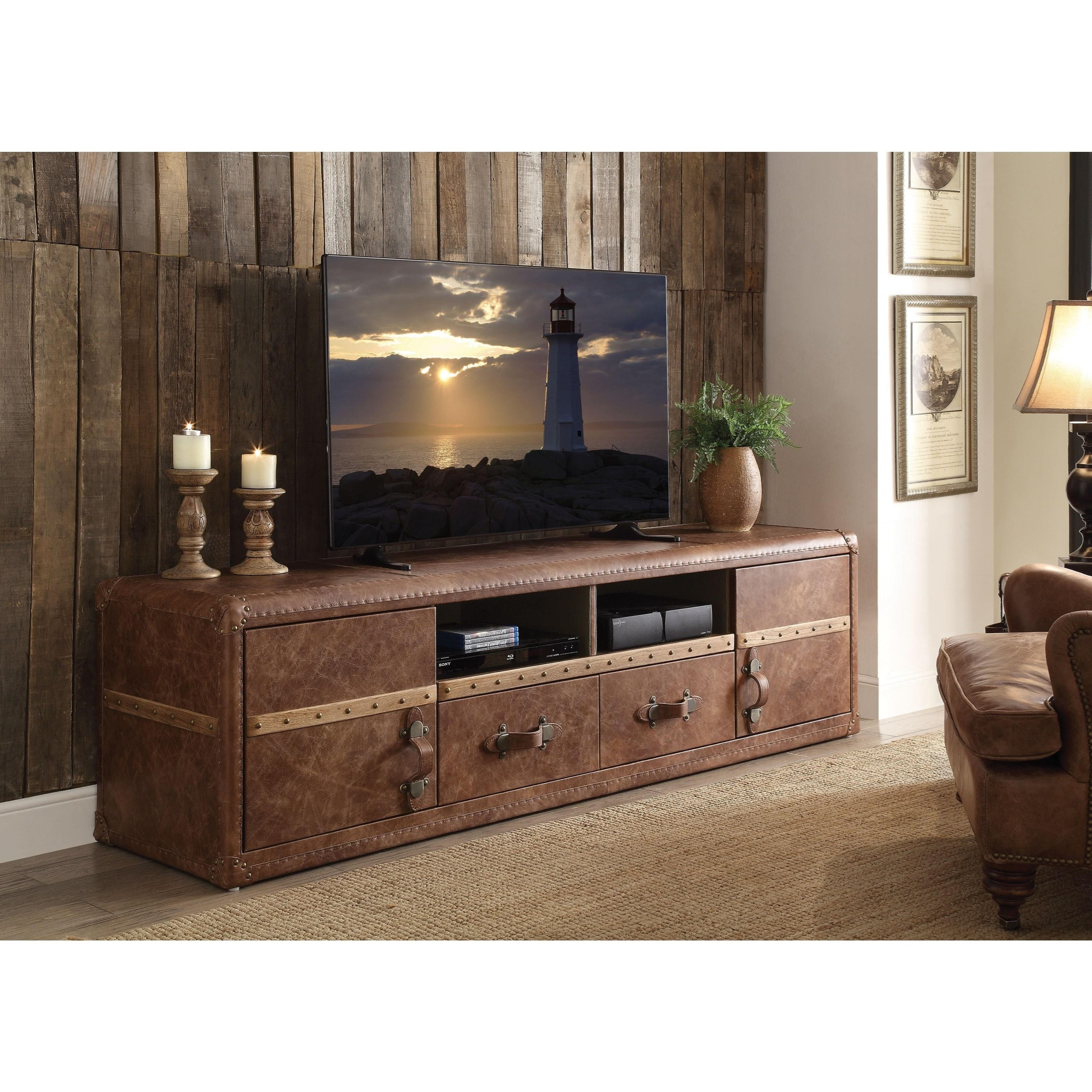Aberdeen TV Stand by Acme Furniture at Dream Home Interiors