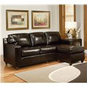 Acme Furniture Sectionals Sectional Sofa - Item Number: 15913 RAFC+15913 LAF