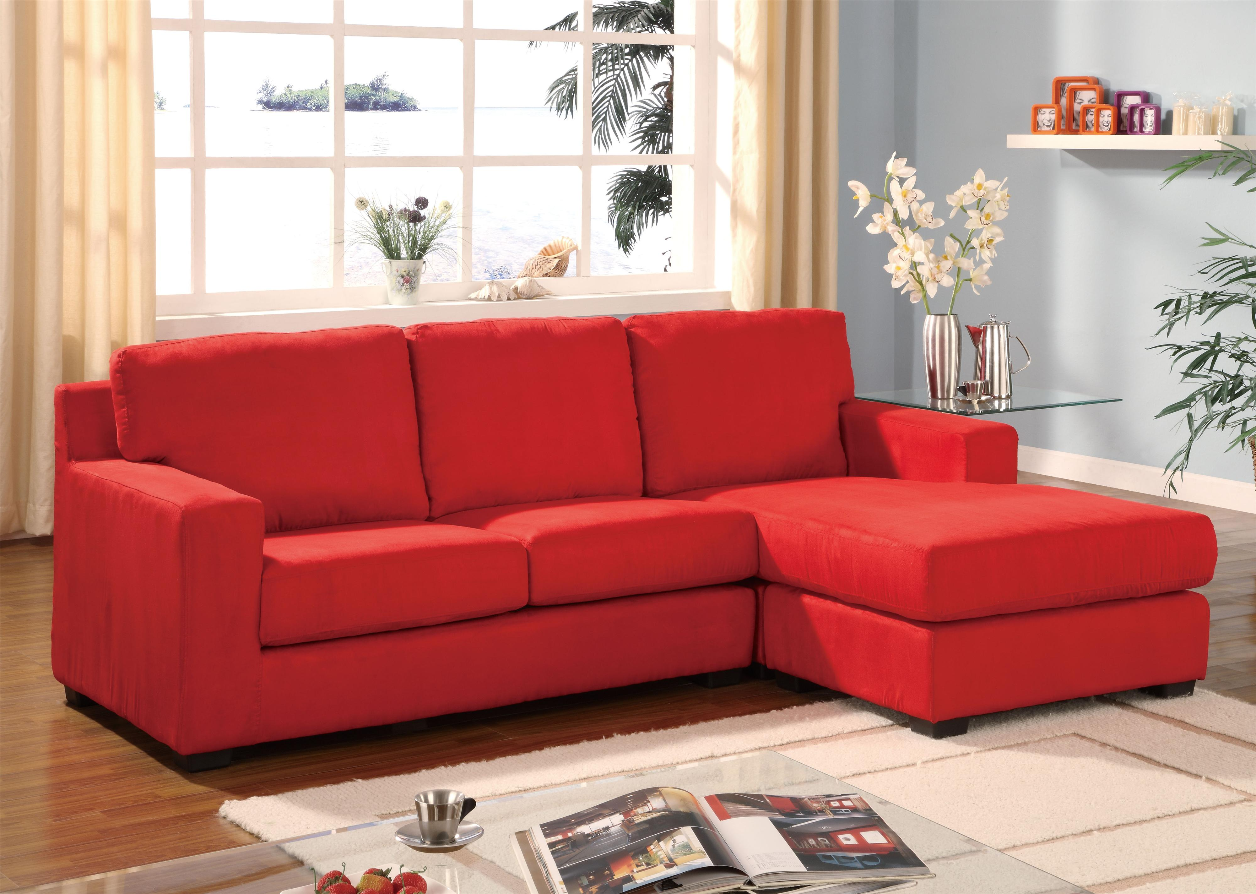 Acme Furniture Sectionals Sectional Sofa - Item Number: 5917 RAFC+5917 LAF