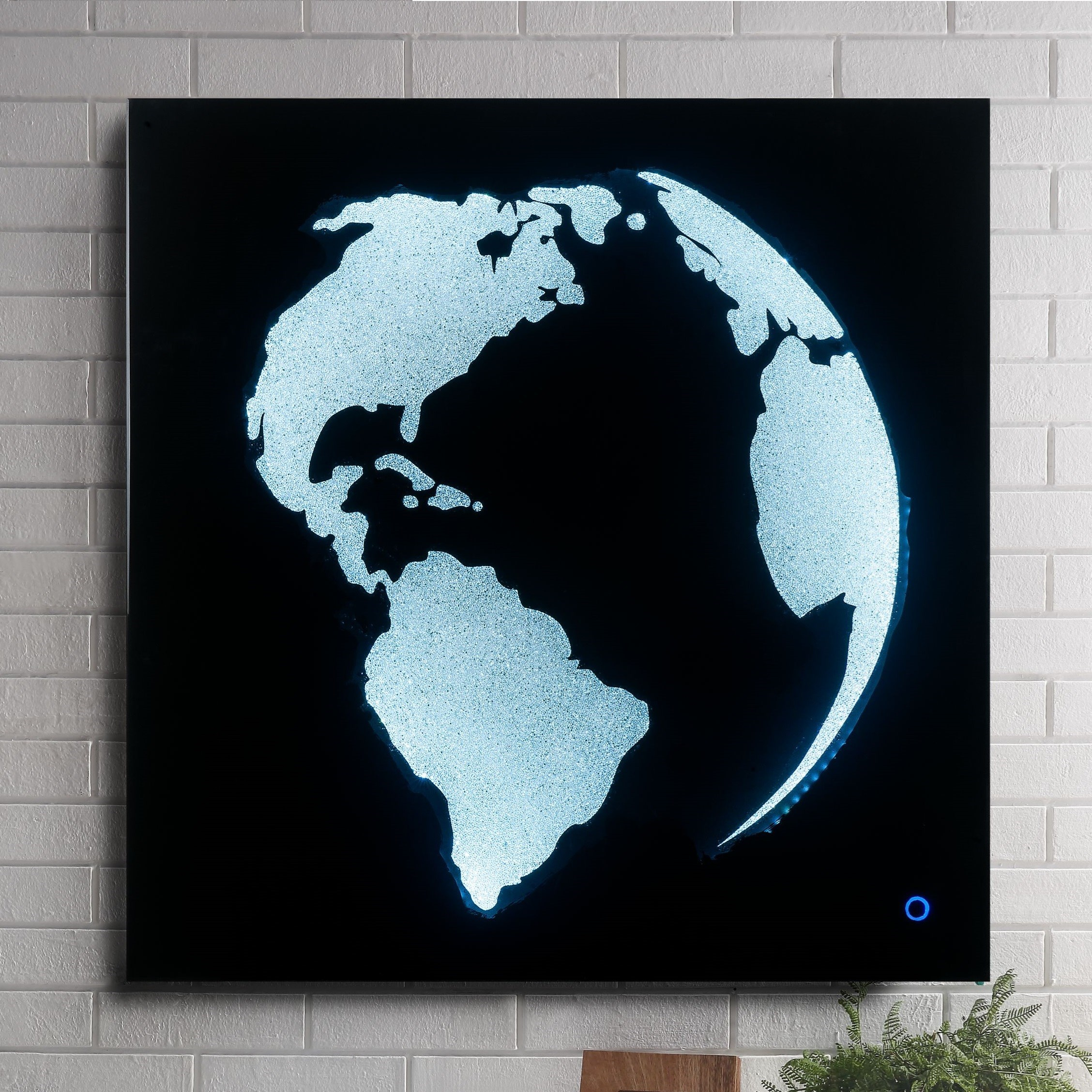 Adamas LED Wall Art by Acme Furniture at Carolina Direct
