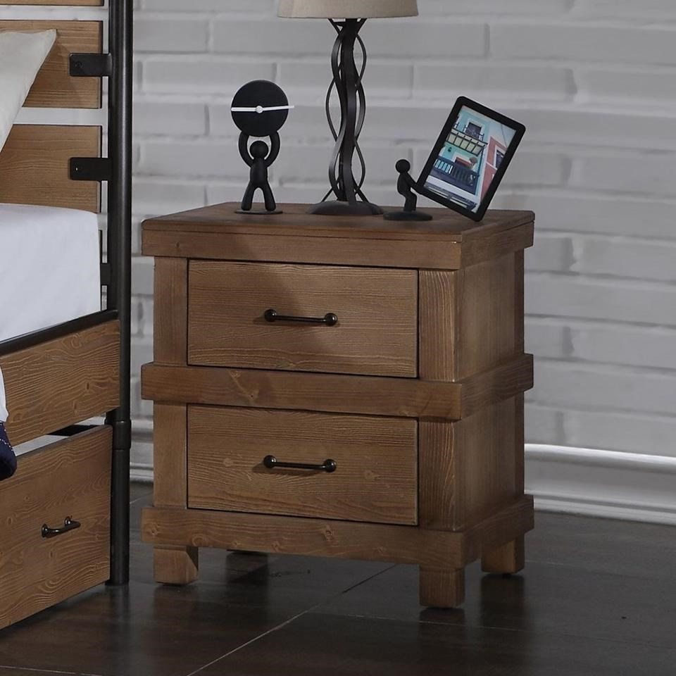 Adams Nightstand by Acme Furniture at A1 Furniture & Mattress