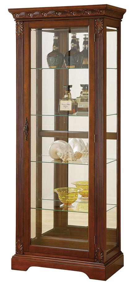 Acme Furniture Addy Curio Cabinet - Item Number: 90063+62