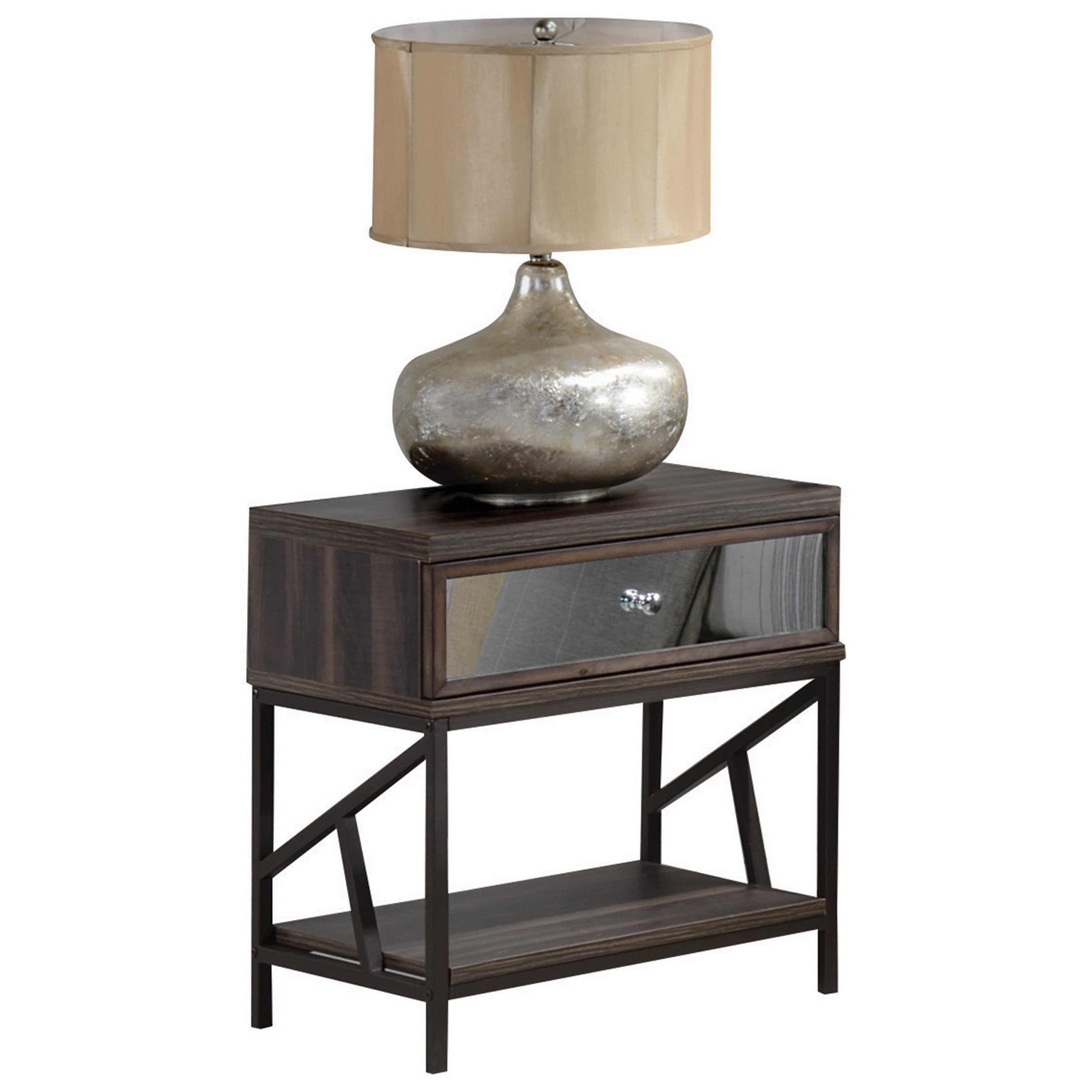 Adrianna Nightstand  by Acme Furniture at Carolina Direct