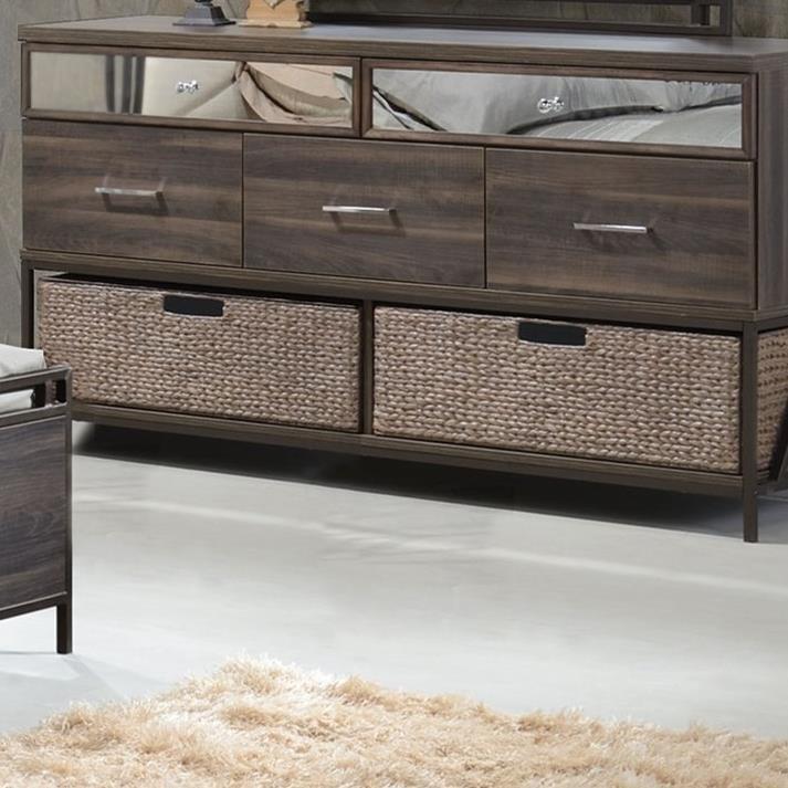 Adrianna Basket by Acme Furniture at A1 Furniture & Mattress