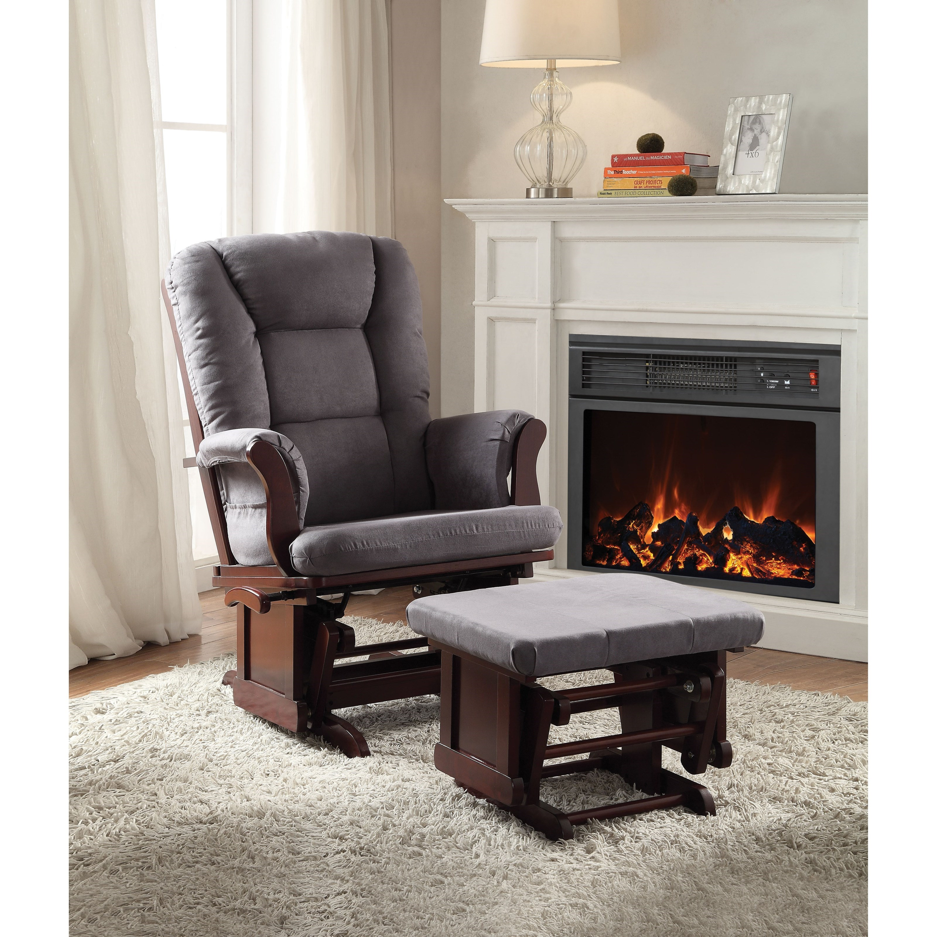 2PCPK Glider Chair and Ottoman