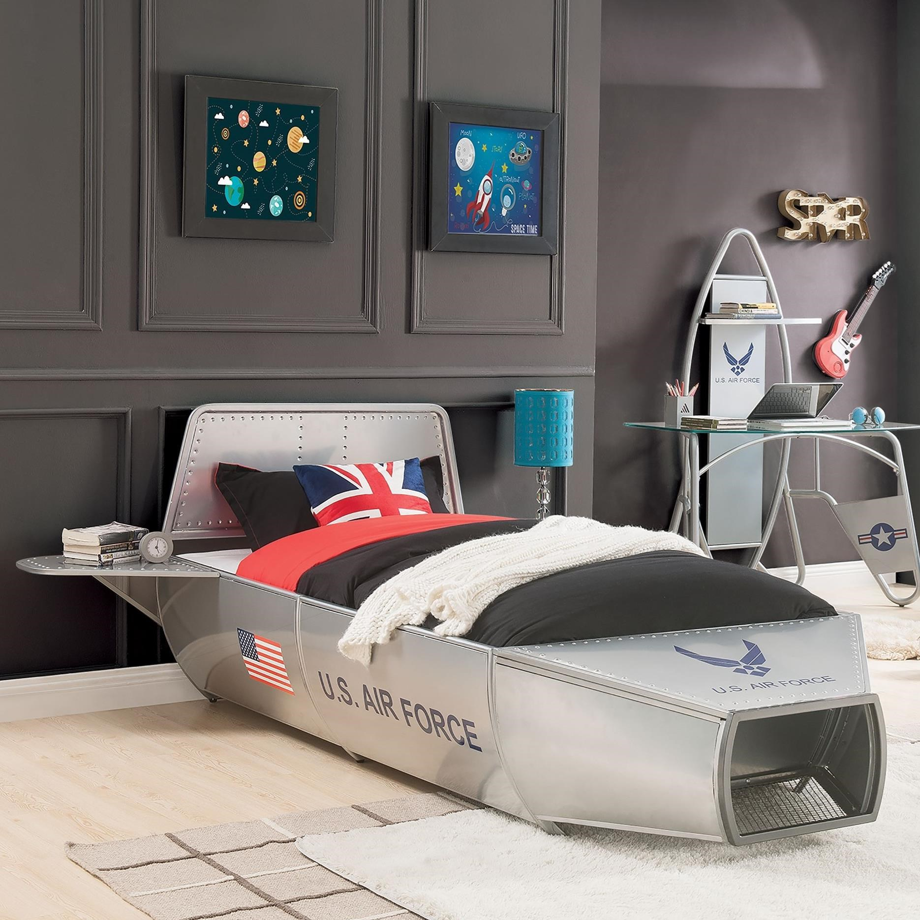 Aeronautic Full Bed by Acme Furniture at A1 Furniture & Mattress