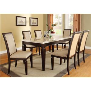 Acme Furniture Agatha 7-Piece Dining Set
