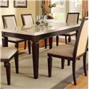 Acme Furniture Agatha Dining Table - Item Number: 70480