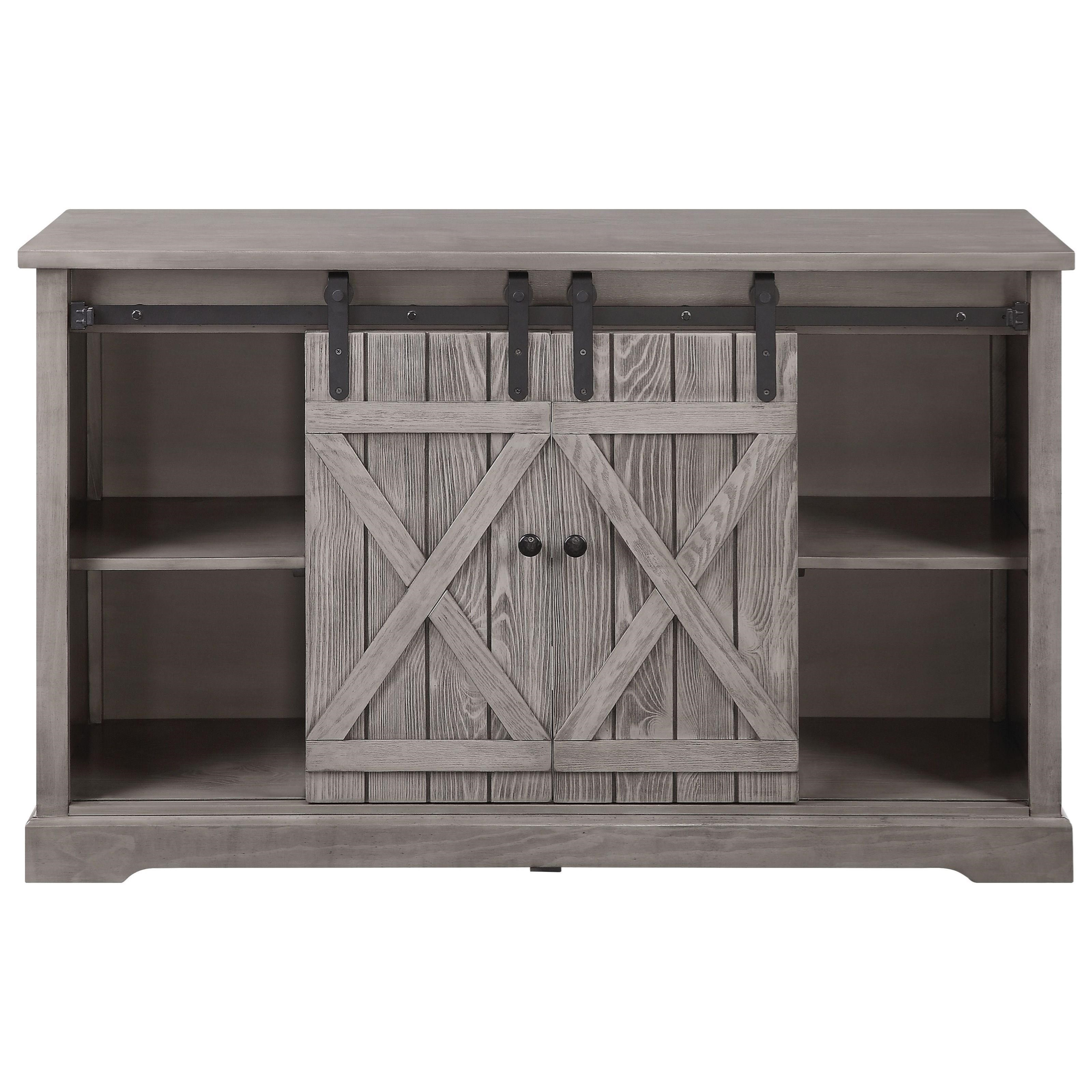 Agustin TV Stand by Acme Furniture at A1 Furniture & Mattress