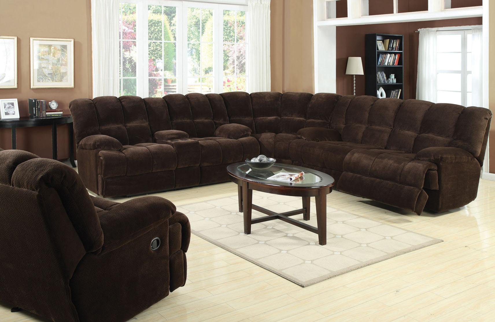 Acme Furniture Ahearn Casual Sectional Sofa Household