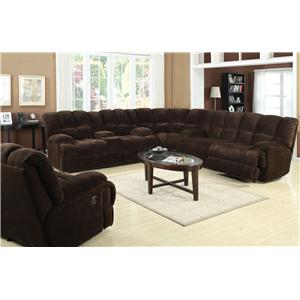 Acme Furniture Ahearn Sectional Sofa