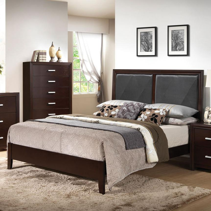 Acme Furniture Ajay Cal King Bed - Item Number: 21414CK