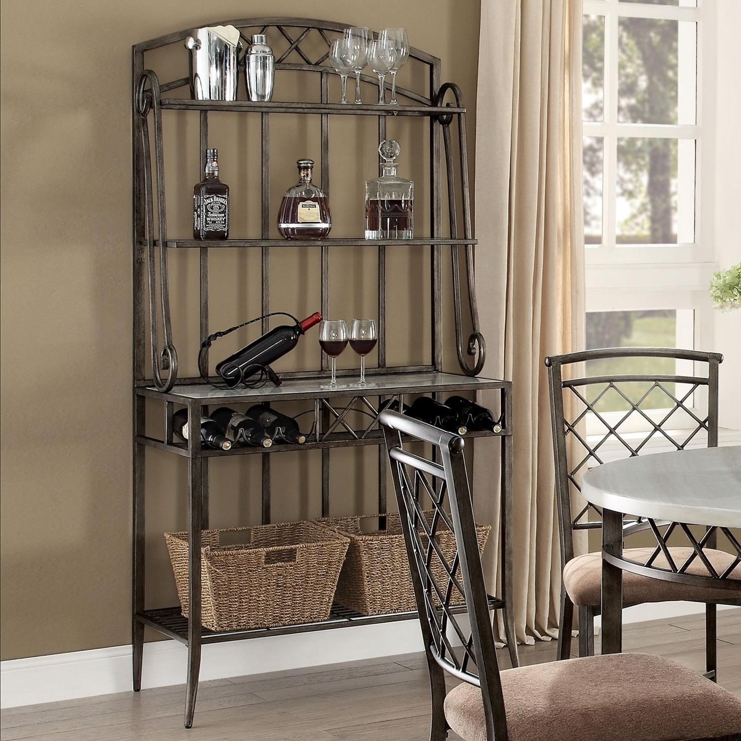 Aldric Baker's Rack by Acme Furniture at Carolina Direct