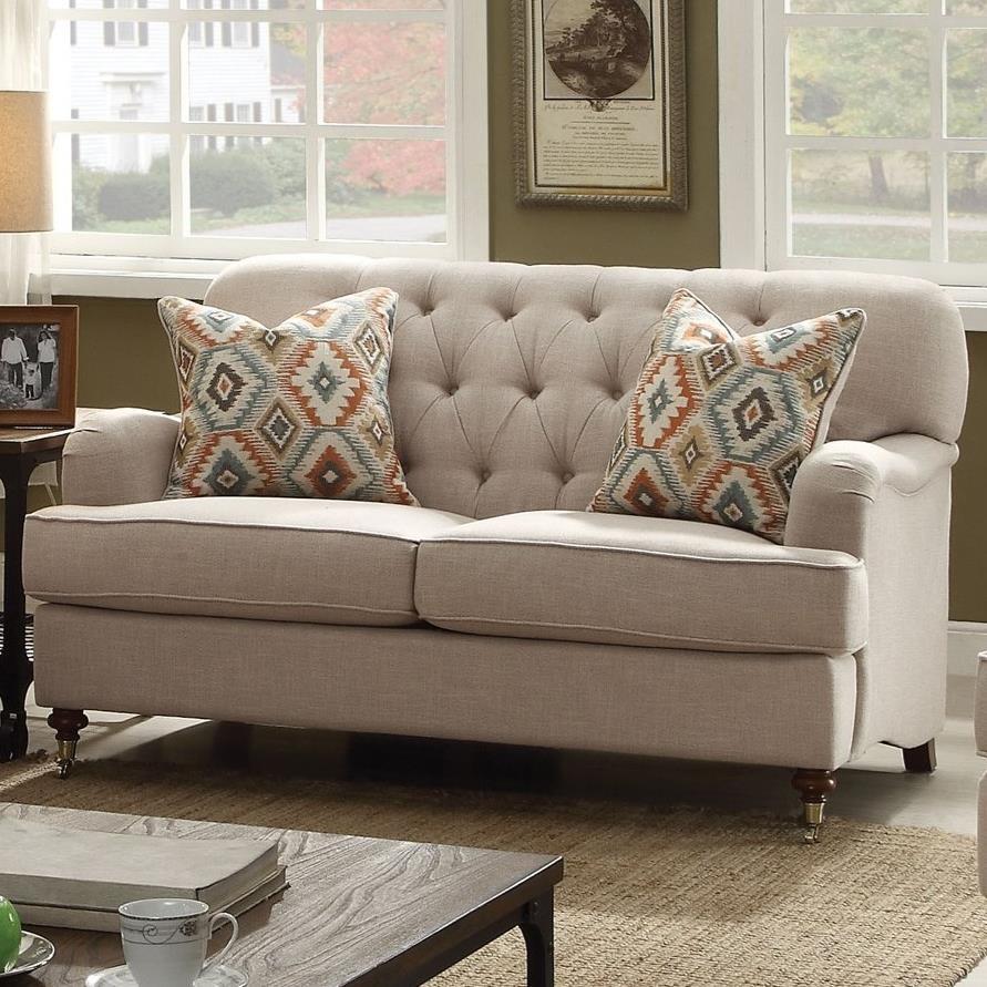 Alianza Loveseat by Acme Furniture at A1 Furniture & Mattress