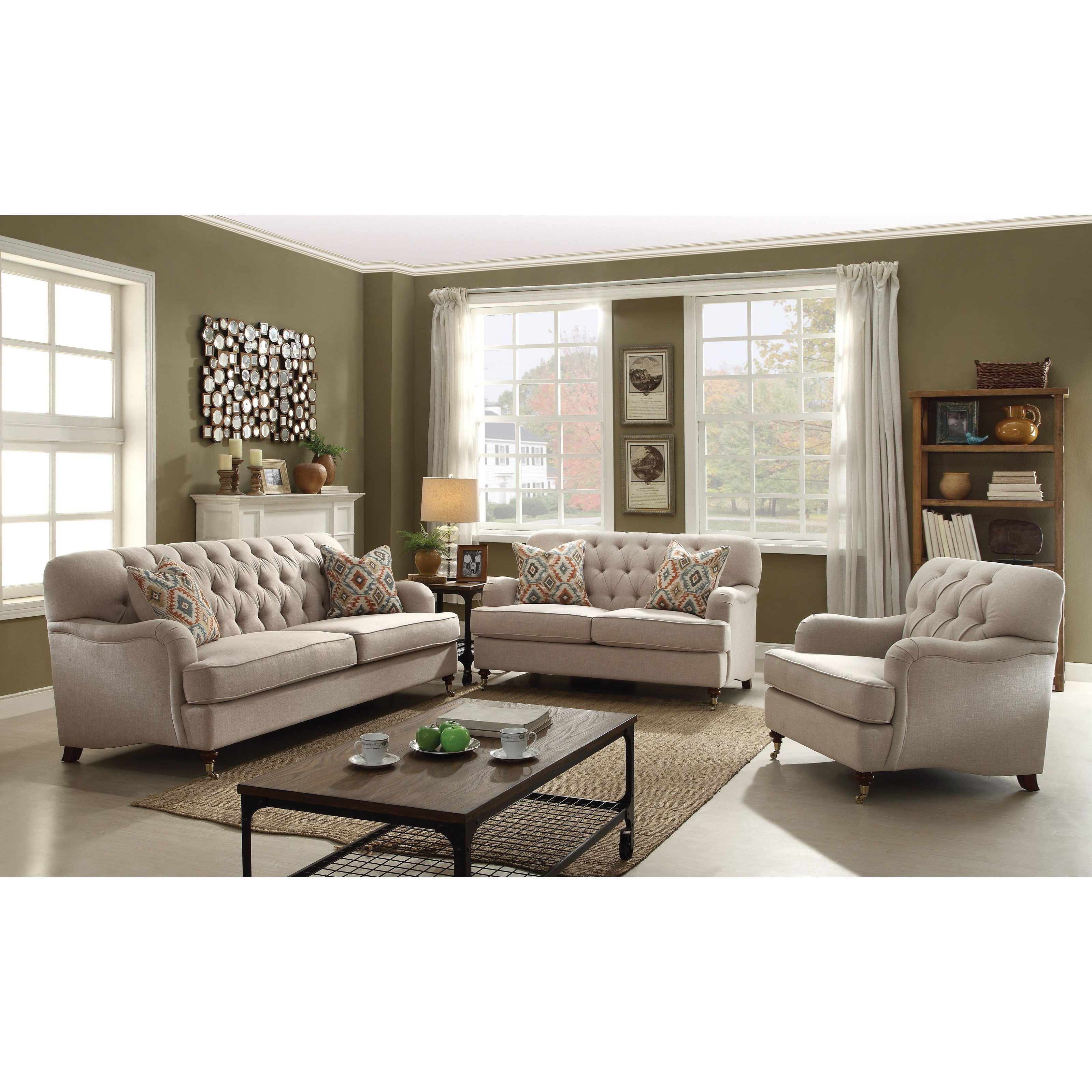 Alianza Stationary Living Room Group by Acme Furniture at A1 Furniture & Mattress
