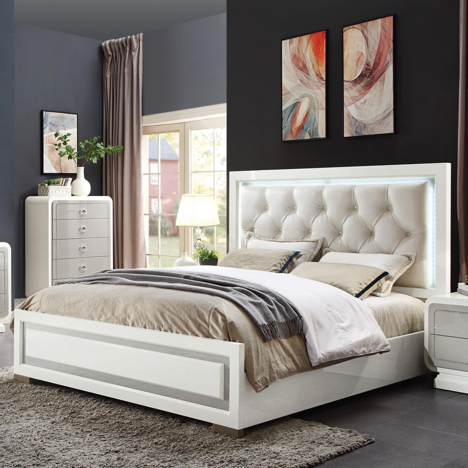 Allendale King Bed by Acme Furniture at Carolina Direct