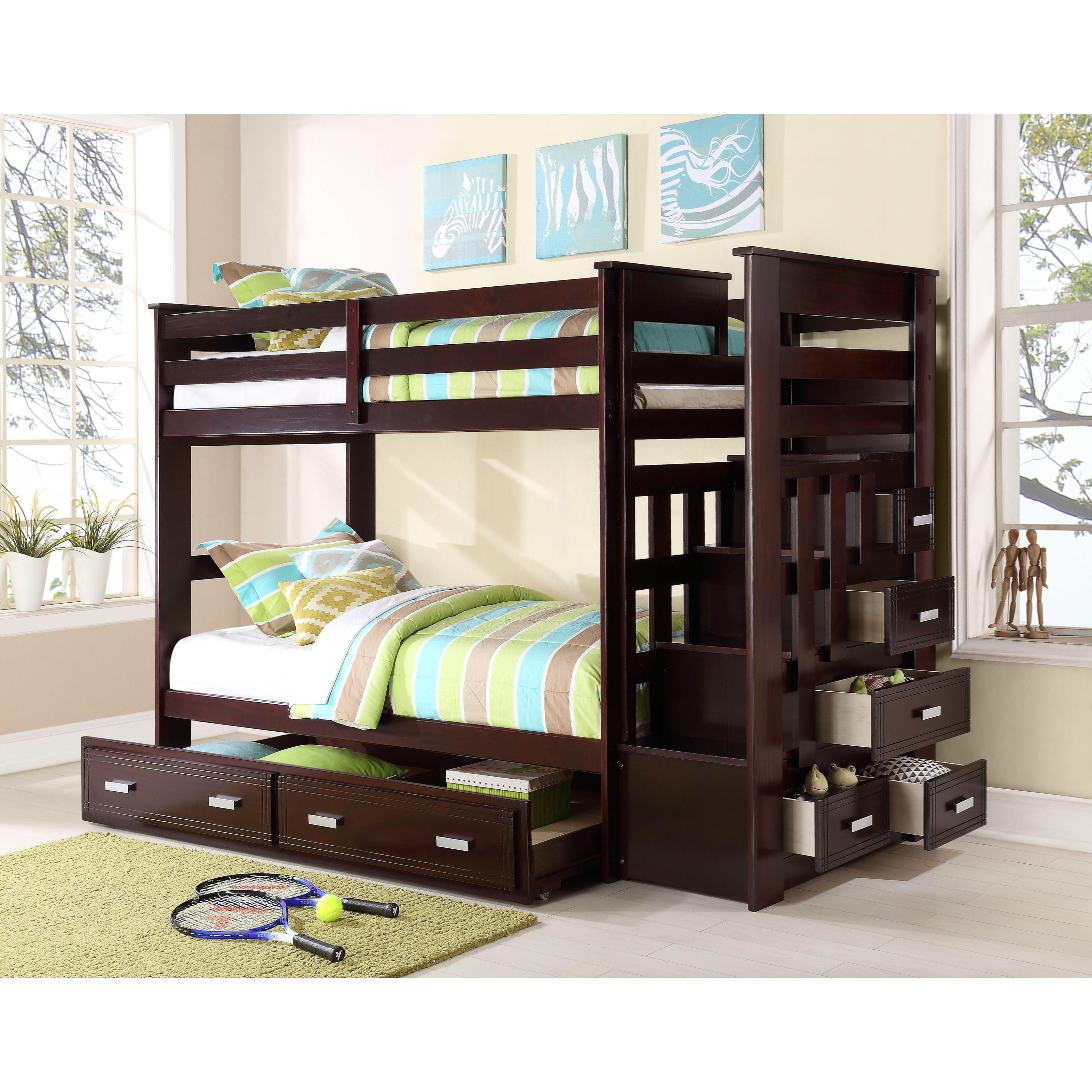 Allentown Twin/Twin Bunk Bed by Acme Furniture at Carolina Direct